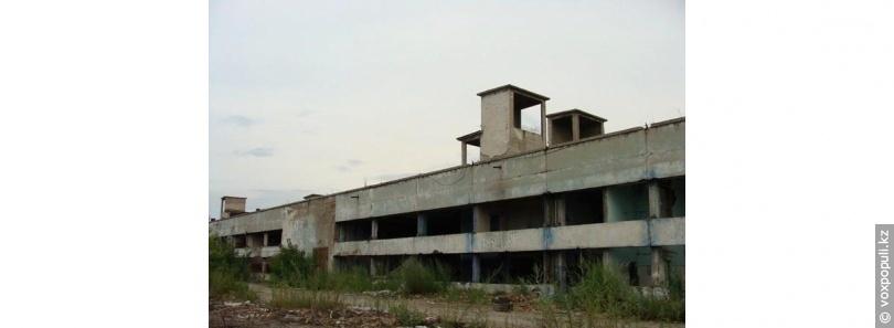 Заброшенный корпус АХБК